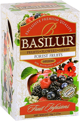BASILUR Fruit Forest Fruit přebal 25x1,8g