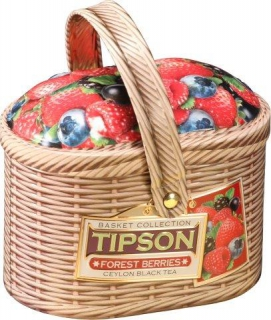 Čaj - TIPSON Basket Forest Berries plech 100g