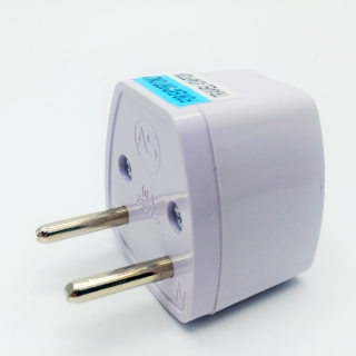 1Pcs Universal Travel Power Plug Adapter EU EURO to US USA Adaptor Converter AC